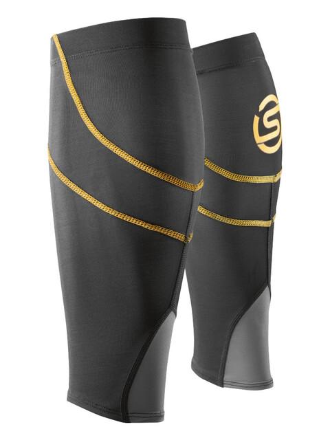 Skins Essentials Calf Tights Unisex MX Bblack/Yellow